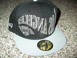 LOS ANGELES KINGS New NWT Mens Fitted New Era HAT CAP LID Bl