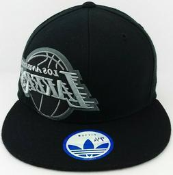 Los Angeles Lakers Adidas/NBA/Fitted/Hat/Cap/Black & Sliver/