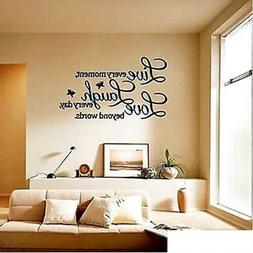 Love Art Quote Wall Sticker Decal Removable Mural Home Livin