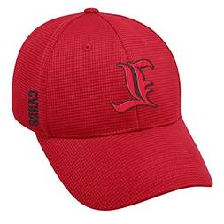 Top of the World Memory Foam Louisville Cardinals Fitted Hat