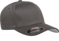 Flexfit Men's Athletic Baseball Fitted Cap, Dark Gray, Large