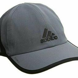 Adidas Men's Fit Climalite UPF 50 Cap Hat,One Size, Grey