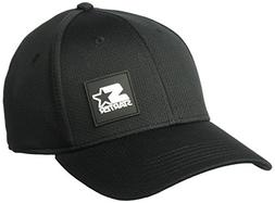 men s fitted cap with wicking