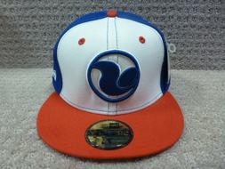 """DVS New Era Men's Hats Fitted Hat  """"Embroidered"""" -- Red/Whit"""