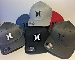 Men's Hurley Icon Solid Flex Fit Hat Cap PICK COLOR AND SIZE