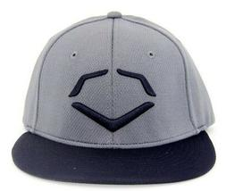 Evoshield Men's Lock Shields Fitted Hat Charcoal/Navy/Black