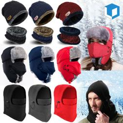 Men Women Warm Beanie Skull Cap Winter Hat Nick Full Face Ma