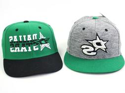 mens dallas stars hat fitted and adjustable