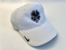 Mens NIKE fitted Golf Hat with Black Clover 4Luck Logo All W