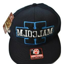 American Needle Mens Malcom X Fitted Hat Cap New 7 1/2