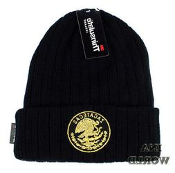 mexico beanie hat federal state cuffed winter