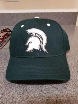 Michigan State Spartans NCAA Size 7 1/4 Fitted Hat Cap Zephy