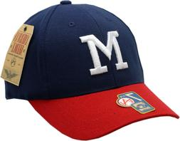 Milwaukee Braves Fitted Hat 1953-65 Cooperstown Collection