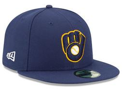 New Era 5950 Milwaukee Brewers 2018 ALT 2 Fitted Hat  MLB Ca