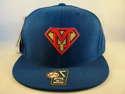 Milwaukee Brewers MLB American Needle Superman Fitted Hat Ca