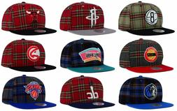 Mitchell & Ness Authentic NBA Plaid Flannel Mens Snapback Ad