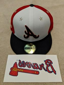 New Era MLB All Star Game 59Fifty Fitted Hat Atlanta Braves