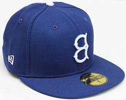 MLB Brooklyn Dodgers New Era 59Fifty Fitted Hat - Royal Blue