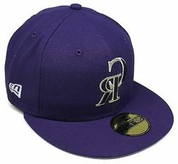 mlb colorado rockies purple 59fifty city flag