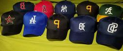 MLB Fitted Hats Angels A's Yankees Padres Pirates Tigers Ast