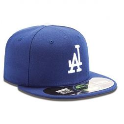 MLB Los Angeles Dodgers Game AC On Field 59Fifty Fitted Cap-