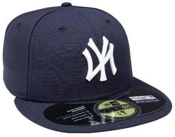 New Era Official On-Field Yankees Cap  - navy/white, 7 1/2 -