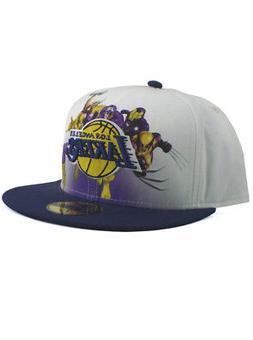 New Era NBA Los Angeles LA Lakers 59fifty Fitted Hat Size 7