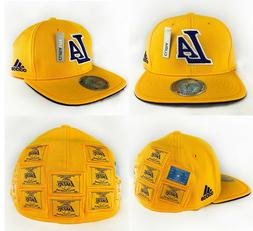 NBA Los Angeles Lakers Flat Brim Fitted Adidas 16X Champions