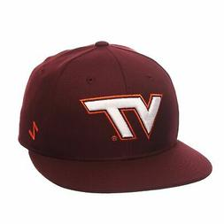 ncaa mens m15 fitted hat virginia tech