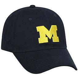 NCAA Michigan Wolverines Men's Elite Fan Shop Fitted Relaxed