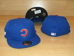 NE Chicago Cubs 59Fifty 2016 World Series On-Field Fitted Ha