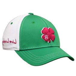 NEW Black Clover China Luck Green/White/Red Fitted S/M Golf