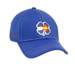 NEW Black Clover Colorado Flag Live Lucky #2 Blue Fitted S/M