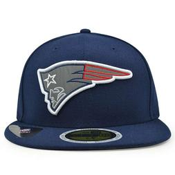 New England Patriots REFLECTIVE TEAM Fitted Navy 59Fifty New