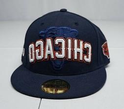 New Era 59Fifty Chicago Bears Fitted 6 7/8 Polyester Basebal