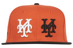BLACK SCALE NEW ERA 59FIFTY NY GIANTS BLVCK MLB FITTED HAT O