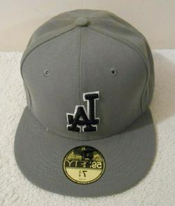 New Era Los Angeles Dodgers Grey Black White 59Fifty Fitted