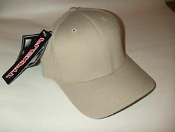 NEW Flexfit Blank Baseball Fitted Hat 6477 Wool Blend SMALL
