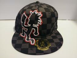 NEW Insane Clown Posse Hatchet Man Checkered Fitted Hat Size