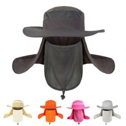 New Hiking Fishing Hat Outdoor Sport Sun Protection Neck Fac