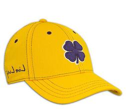 NEW Black Clover Live Lucky BC Style 45 Gold/Purple Fitted L
