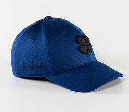 NEW Black Clover Lucky Heather Cobalt Black/Royal Fitted S/M