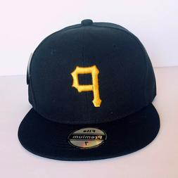 NEW Mens Pittsburg Pirates Baseball Cap Fitted Hat Multi Siz
