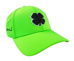 NEW Black Clover Premium Clover #76 Lime Green-Black Fitted