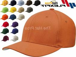 New Premium Flexfit Fitted Hat Wool Blend Baseball Cap 6477