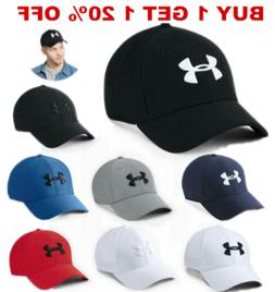 New Under Armour Strapback Golf Baseball Cap Embroidered Uni