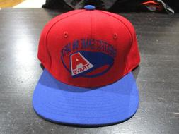 NEW VINTAGE Arkansas Travelers Baseball Hat Cap Red Fitted M