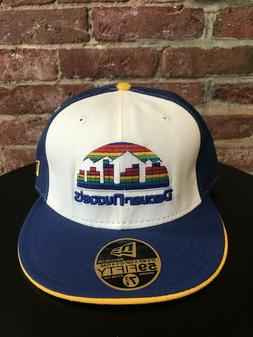 NEW VINTAGE NEW ERA DENVER NUGGETS 59FIFTY NBA FITTED HAT CA