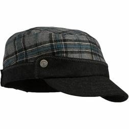 New Outdoor Research Women's Gabby Cap Plaid Pewter cadet Ha