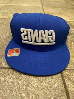 New York Giants Mitchell And Ness Fitted Hat 7 3/8 Super Bow